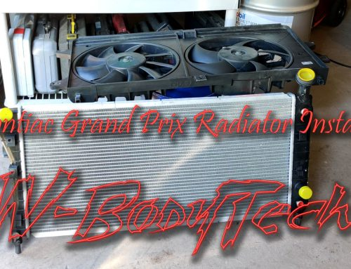 2005 Grand Prix Radiator Install