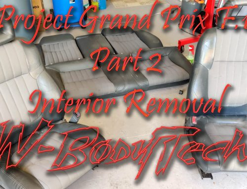 Grand Prix F.1 Project Part 2 Interior Removal