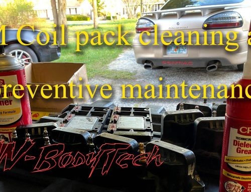 Coil pack cleaning and preventive maintenance